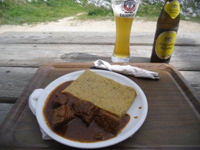 Gulasch Seekofelhütte